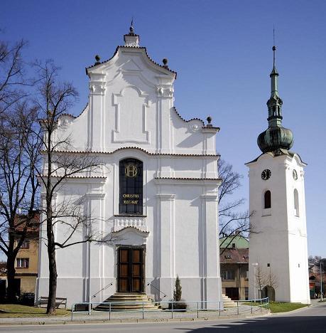 kostel svatého Víta v Pelhřimově