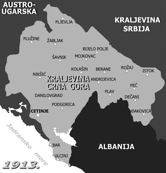 FileKraljevina Crna Gora 1913 map 2apng Wikimedia Commons