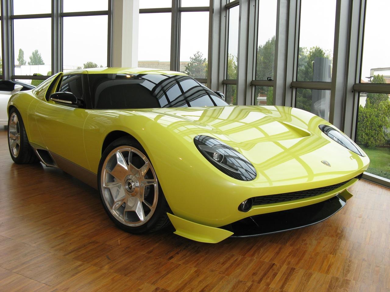 Lamborghini Miura Concept Wikipedia