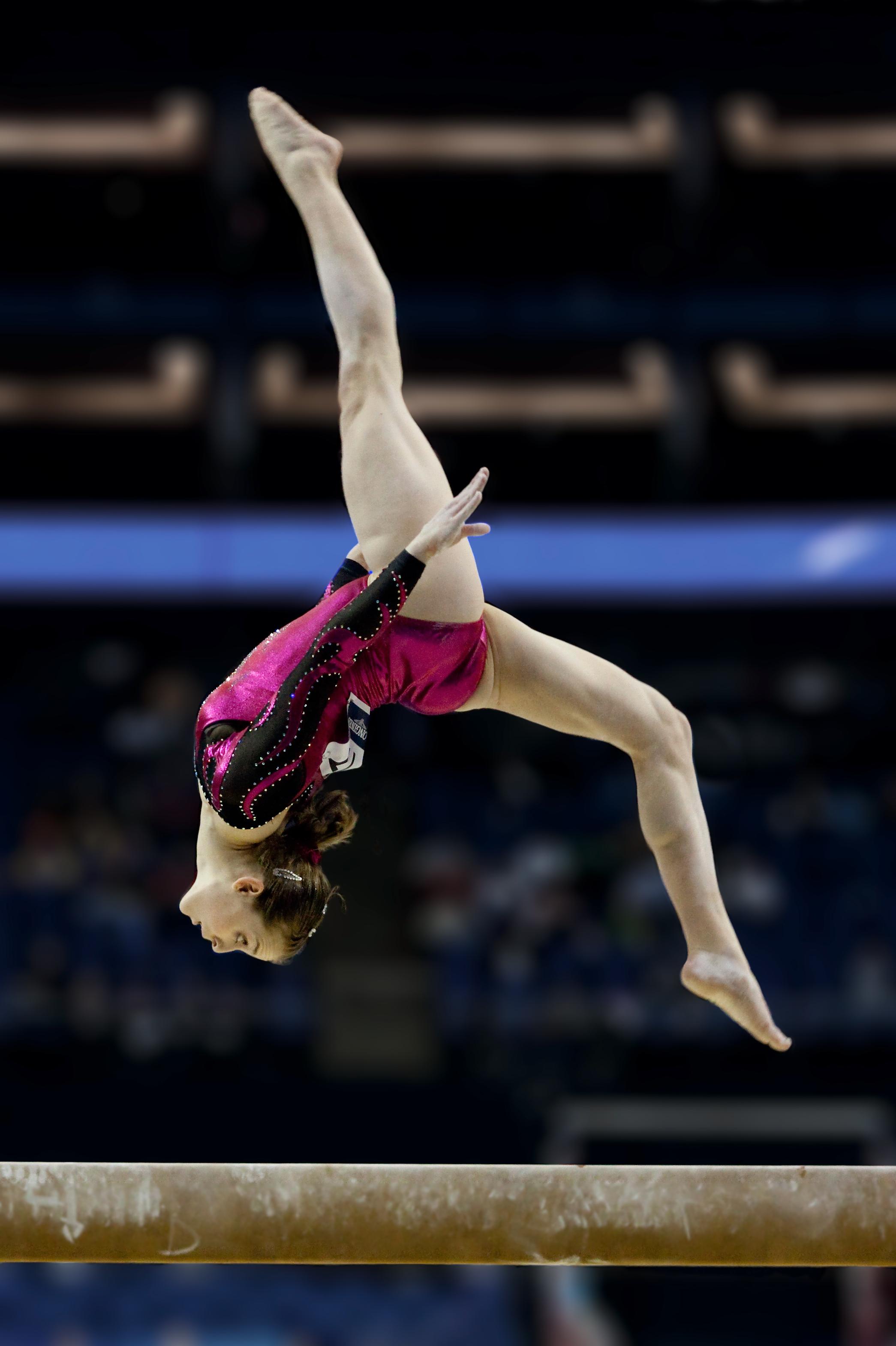 Image forward roll jpg gymnastics wiki - Back Somersault On One Foot