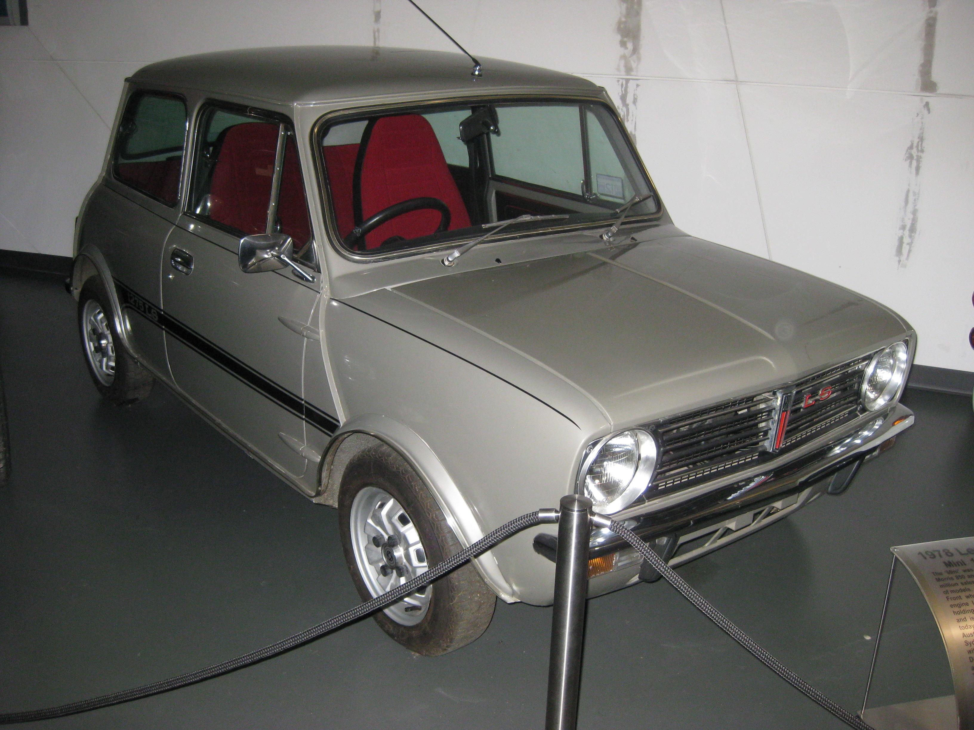 Leyland Mini Clubman 1275 LS Rare  Mini 1275 LS  998 LS