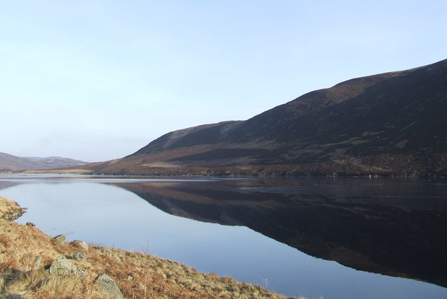 File:Loch Lee looking towards Tod Craig - geograph.org.uk - 703046.jpg