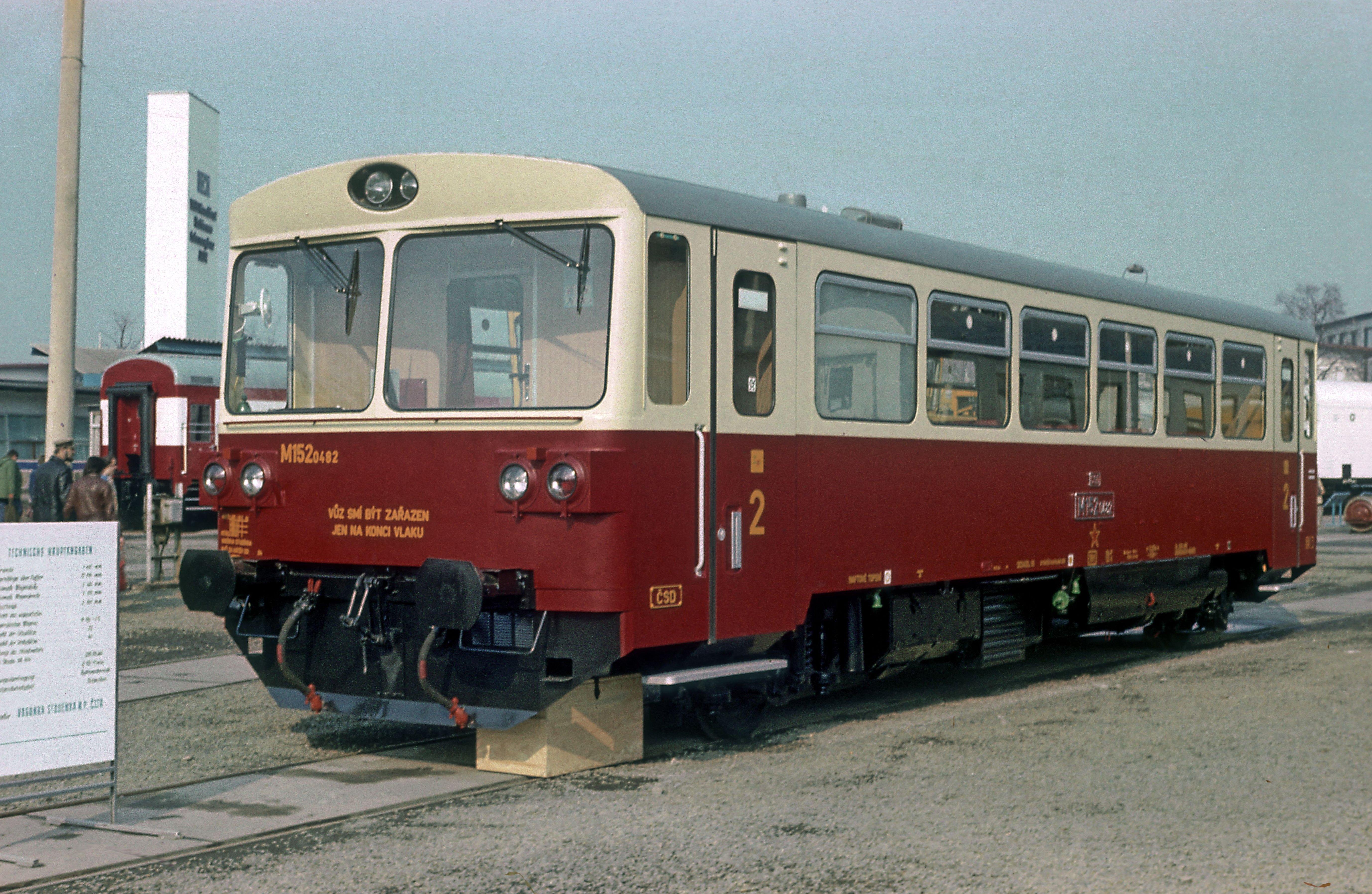 ČSD-Baureihe M 152.0 - Wikiwand