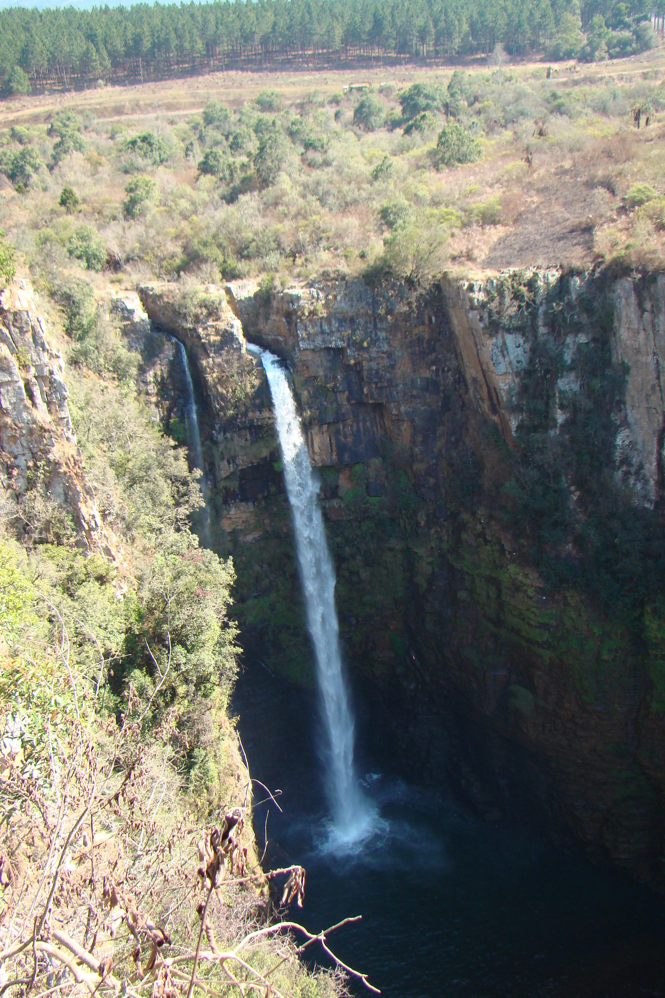 Beschreibung mac mac fall, blyde river canyon, south africa 1