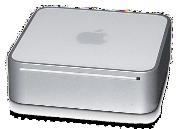 File:Mac mini Intel Core transparent.png