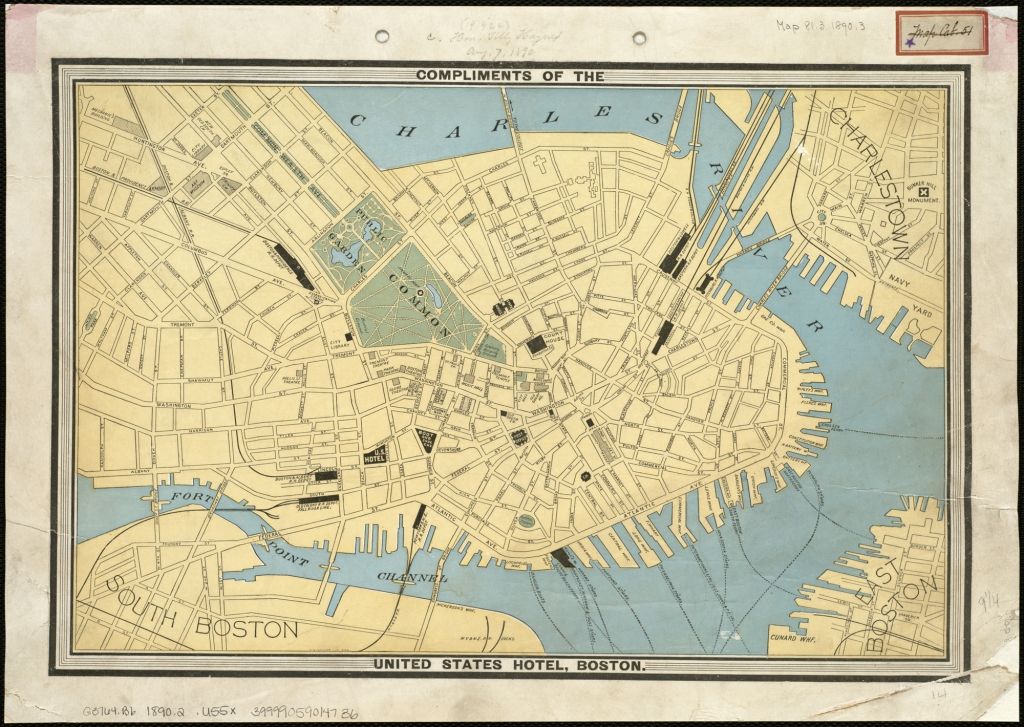 Hotel Boston Map.File Map Of The City Of Boston 3719856411 Jpg Wikimedia Commons