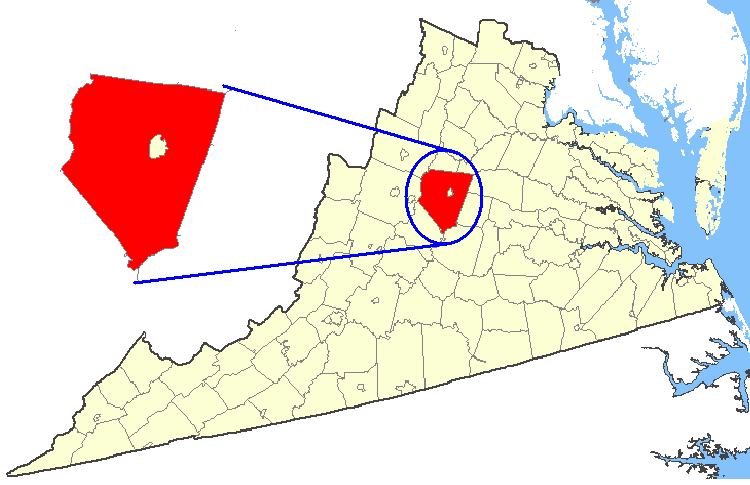 File:Map showing Albemarle County, Virginia.png   Wikimedia Commons