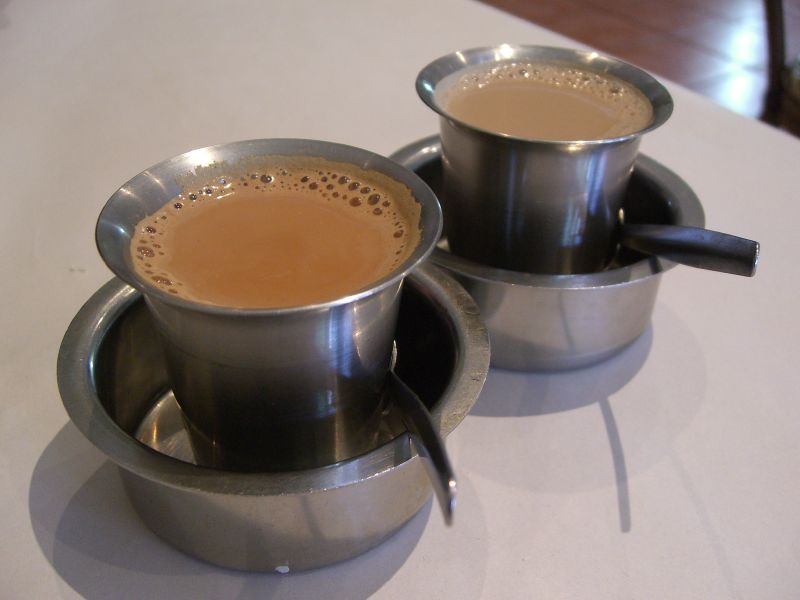 File:Masala Tea and South Indian Filter Coffee.jpg