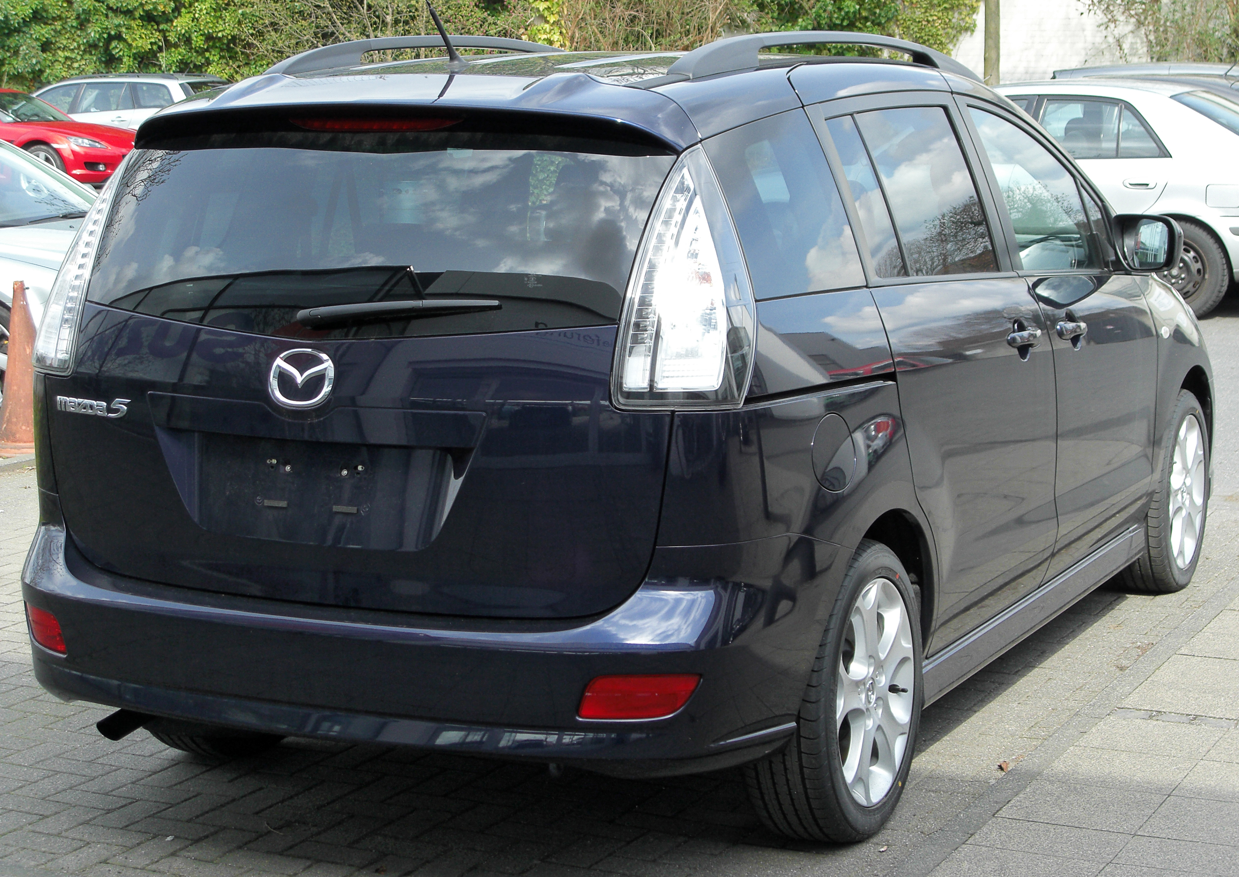 filemazda5 facelift rear 20100405jpg wikimedia commons