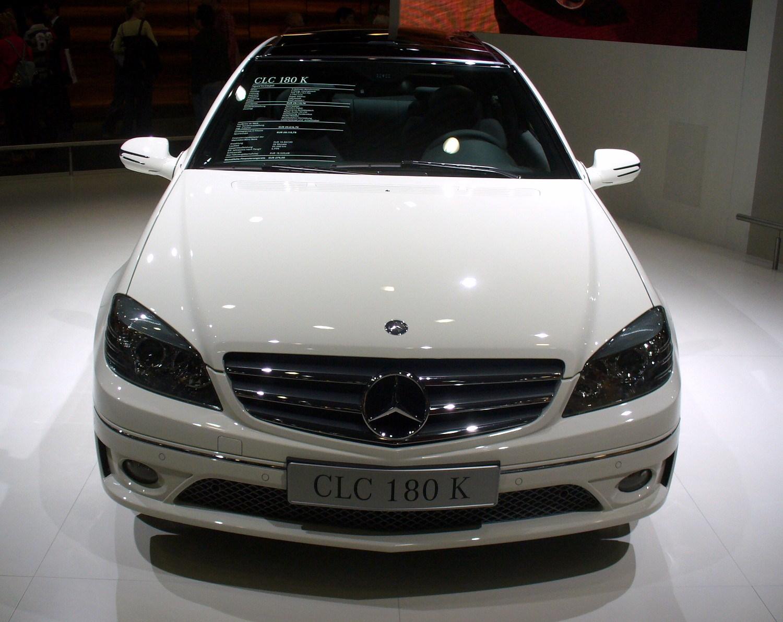 File Mercedes Benz Cl203 Clc180 Kompressor Front Jpg