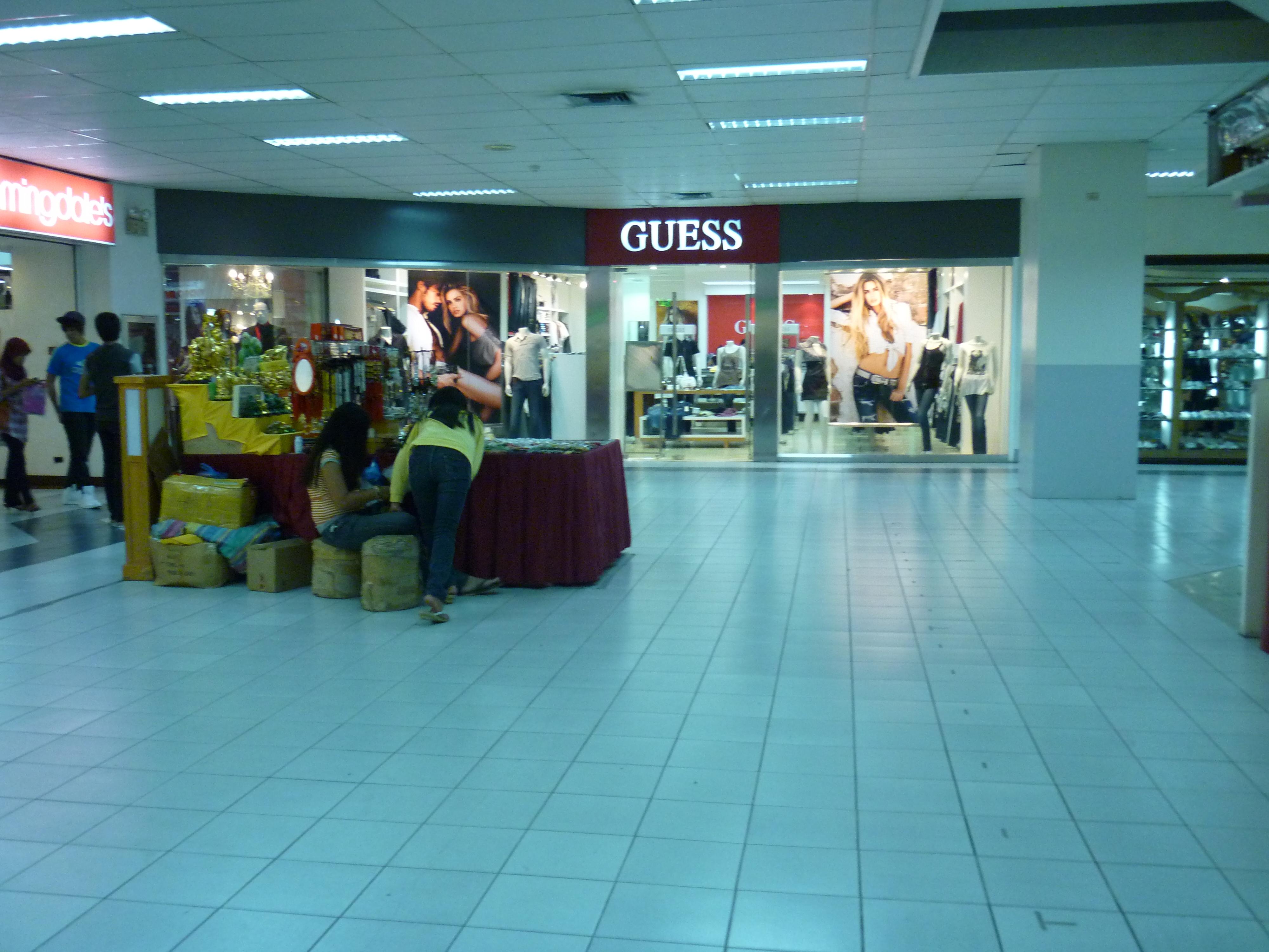 File:Mindpro Citimall Guess Shop.JPG - Wikimedia Commons