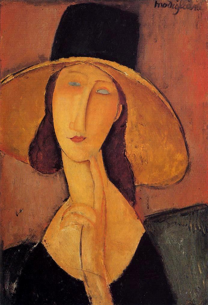 Souvent Amedeo Modigliani - Wikimedia Commons LK19