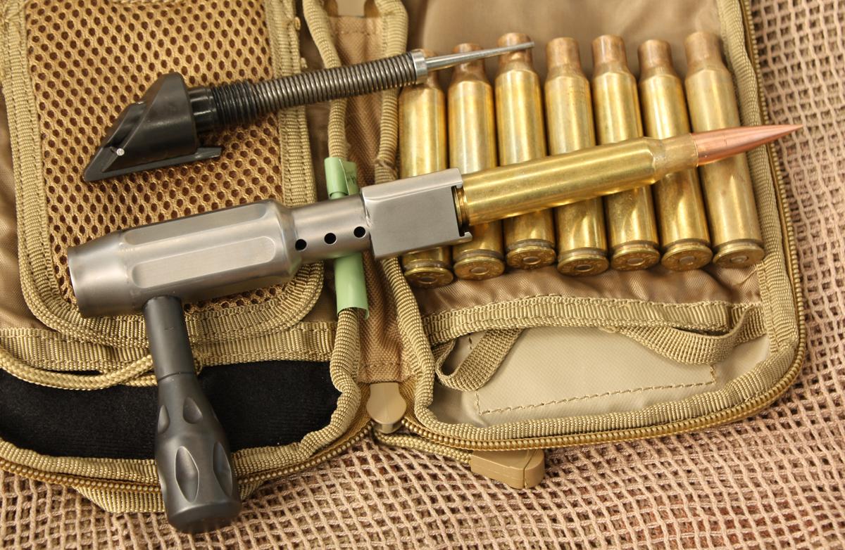 munición calibre 408