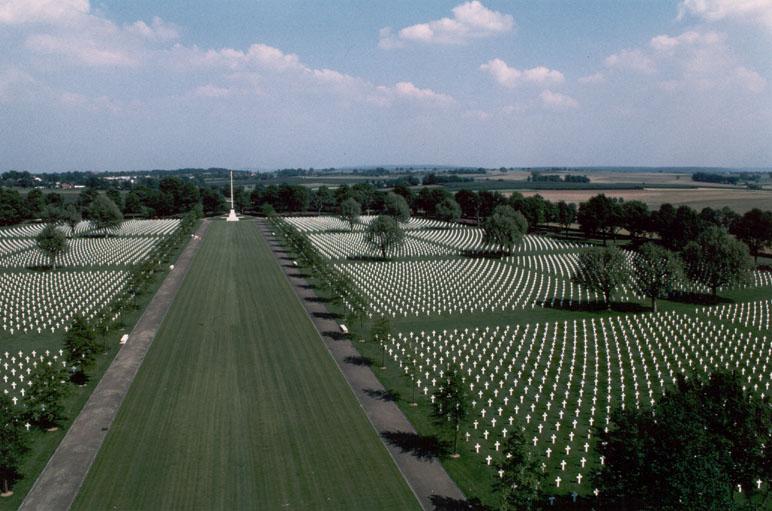 בית הקברות הצבאי והאנדרטה האמריקניים בהולנד