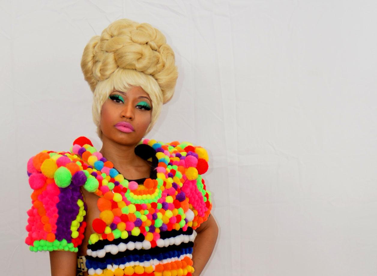 Nicki Minaj White Shoes Ice Watch Hi Bish