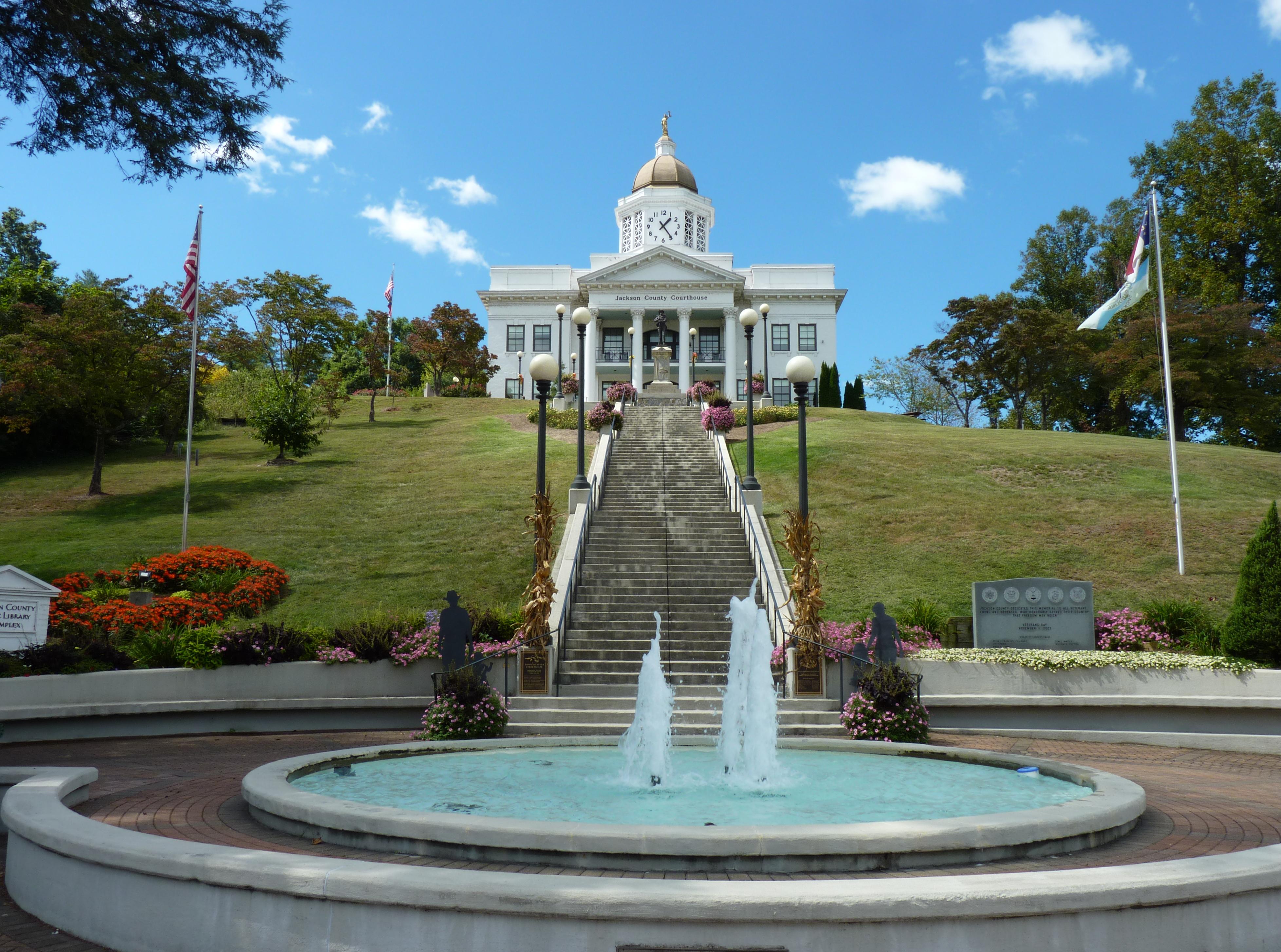 Jackson County Courthouse (North Carolina) - Wikipedia