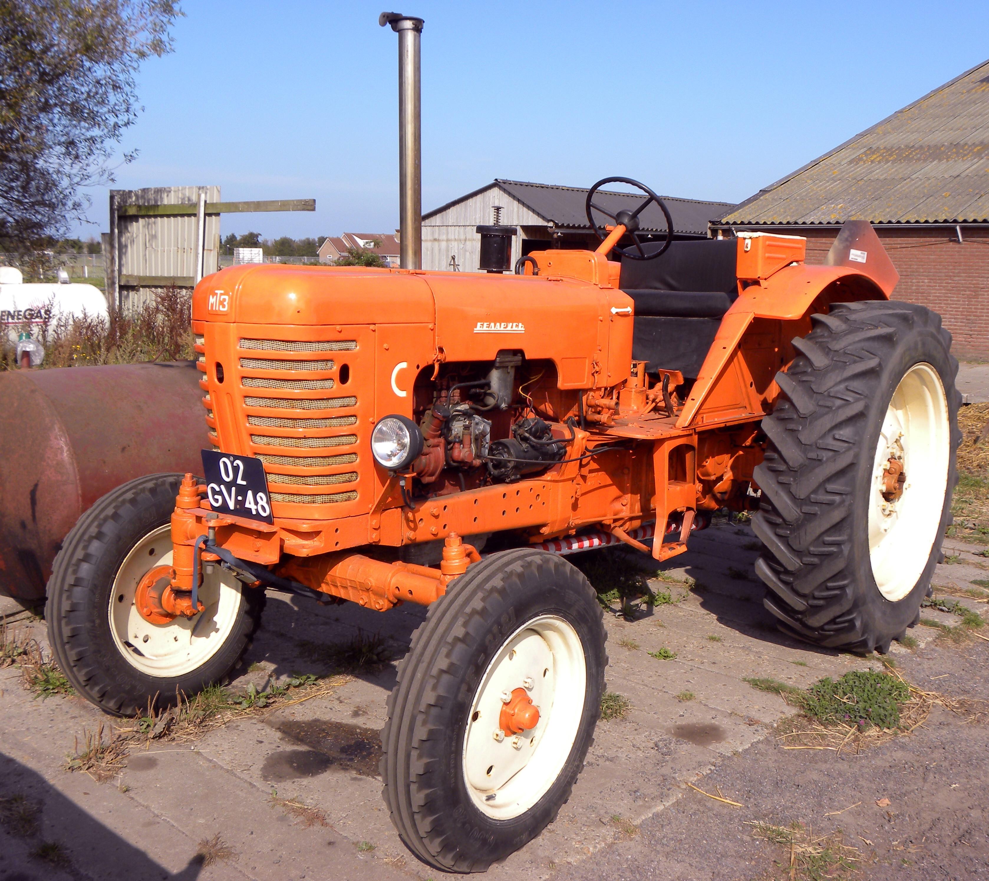 File Orange Belarus Tractor Jpg Wikimedia Commons