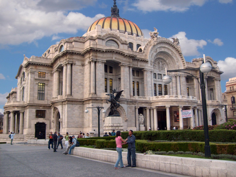 Archivo palacio de bellas wikipedia la for Arquitectura 7 bellas artes