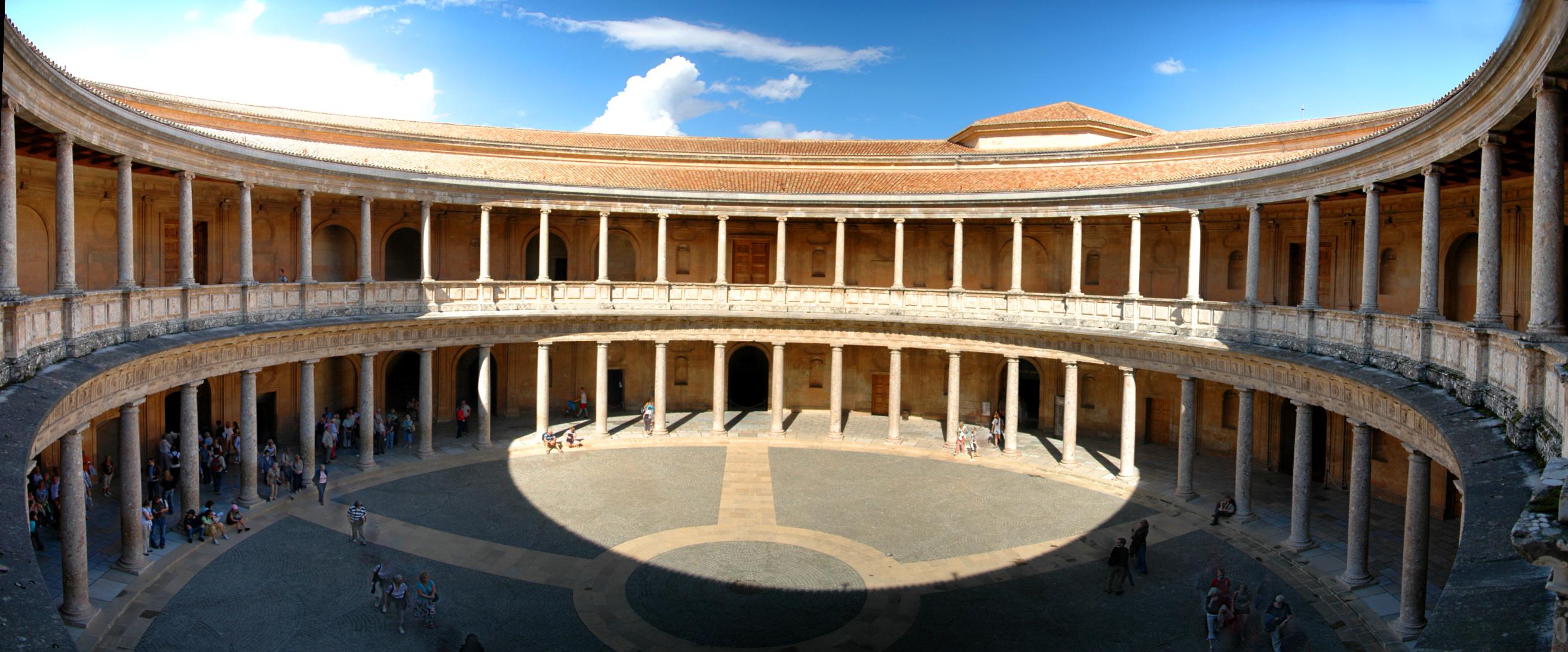 Palacio de Carlos V · Entradas Alhambra