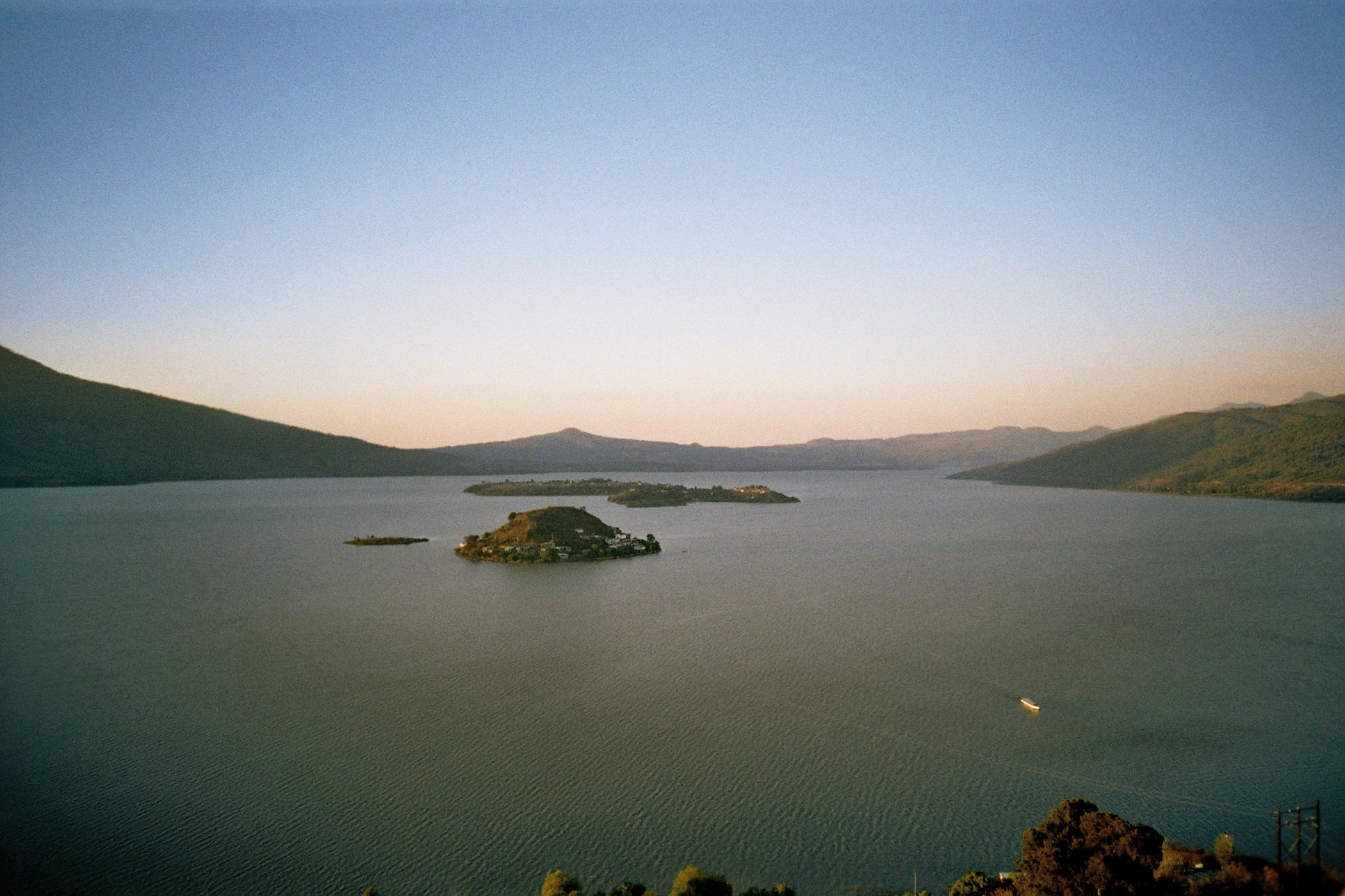 panorámica del Lago de Pátzcuaro
