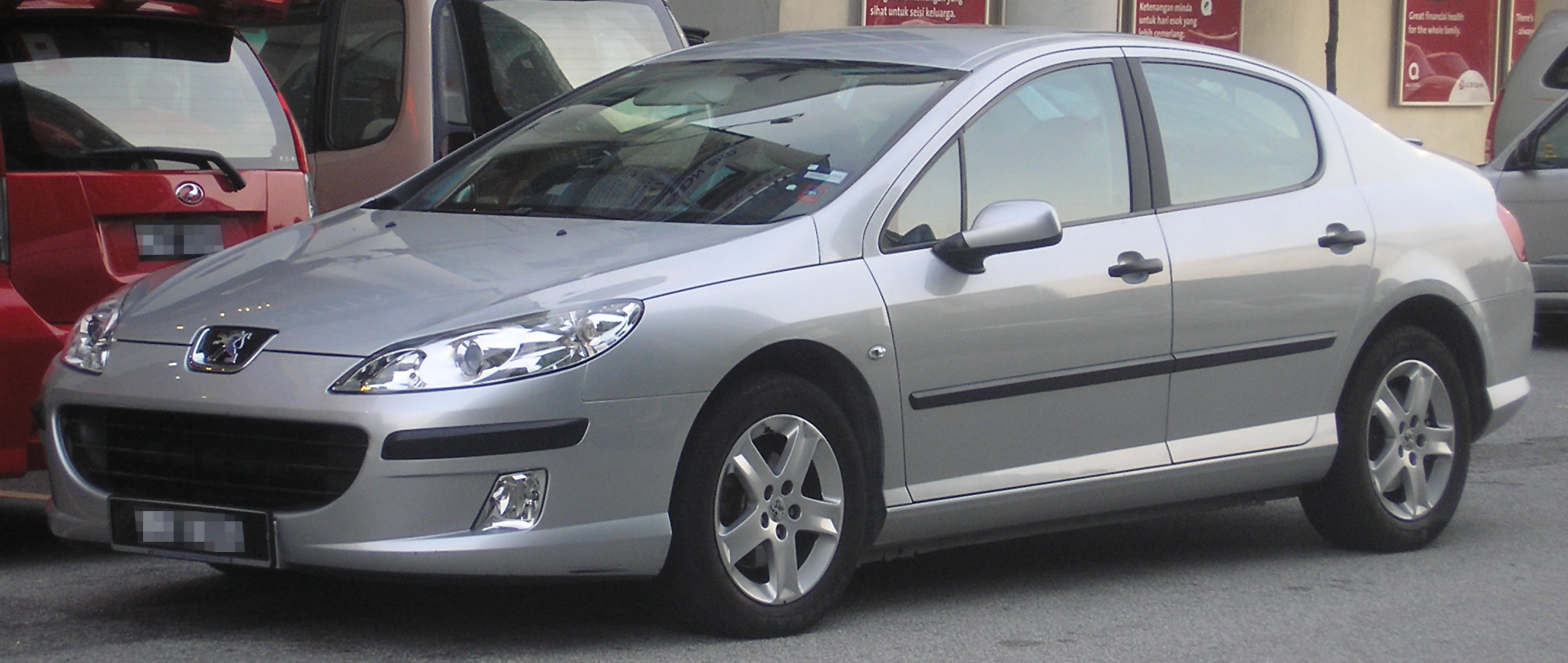 file peugeot 407 first generation front wikimedia commons. Black Bedroom Furniture Sets. Home Design Ideas