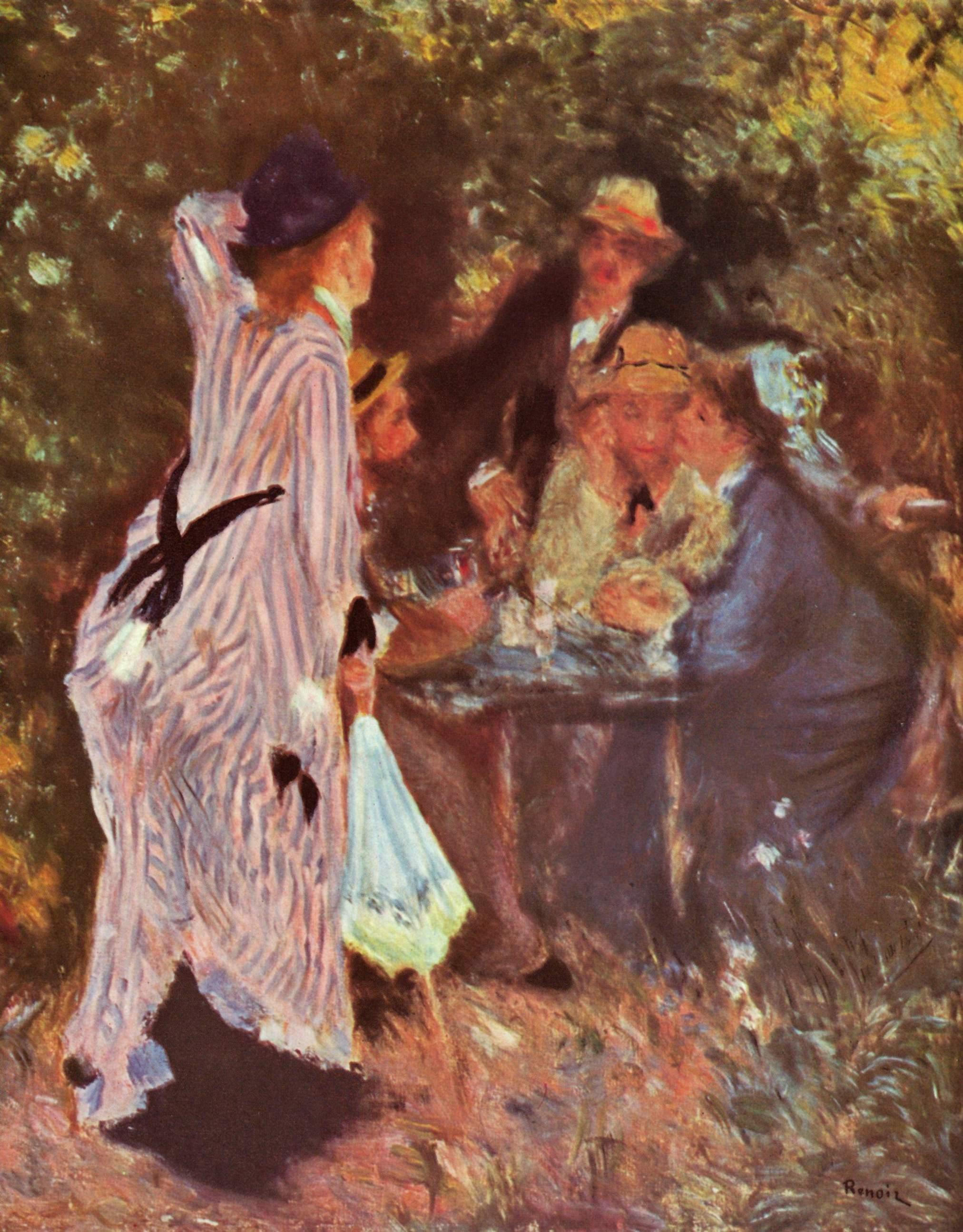 Au Jardin Sous La Tonnelle Au Moulin De La Galette Wikipedia
