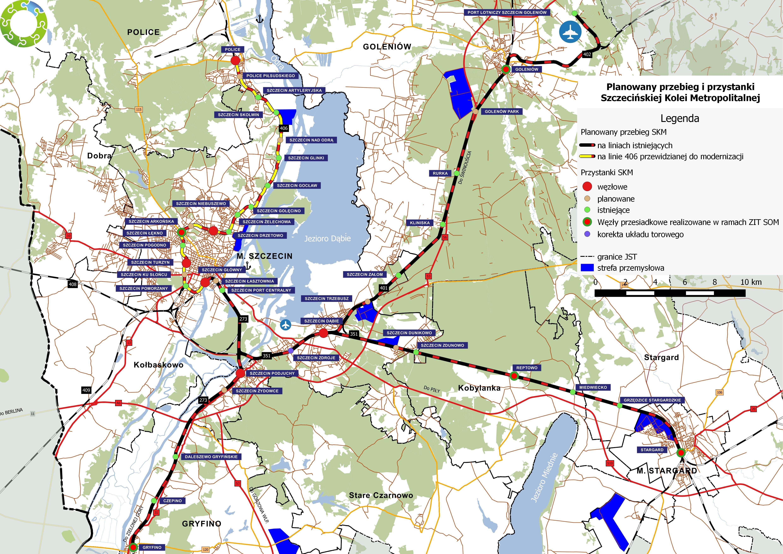 Szczecinska Kolej Metropolitalna Wikipedia Wolna Encyklopedia
