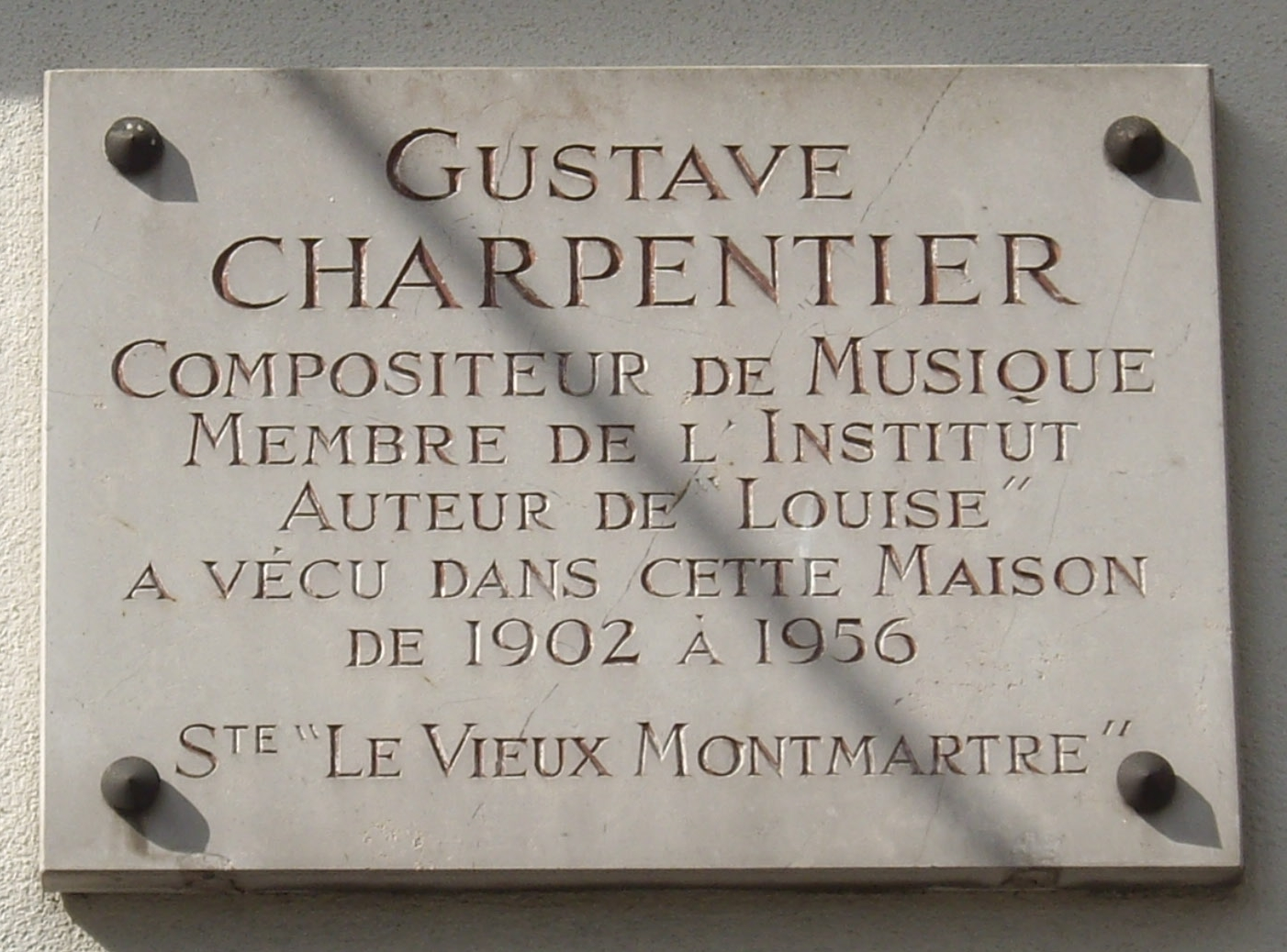 file plaque gustave charpentier 66 boulevard de rochechouart 18 jpg wikimedia commons