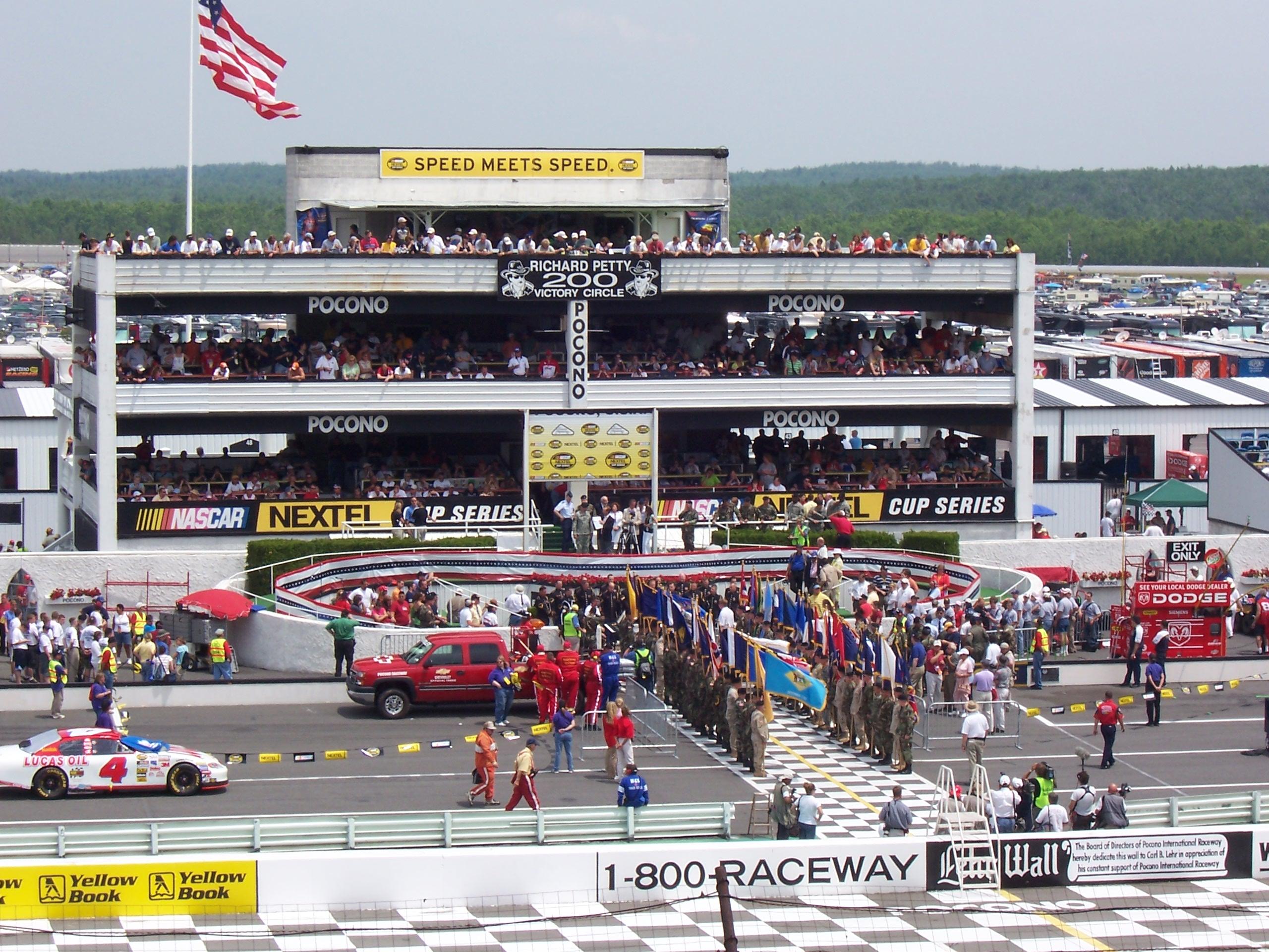 The Pocono 500 at Pocono Raceway in Long Pond