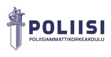 Poliisikoulu Pääsykoe
