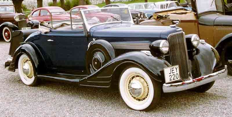 File pontiac cabriolet wikimedia commons for 1934 pontiac 4 door sedan