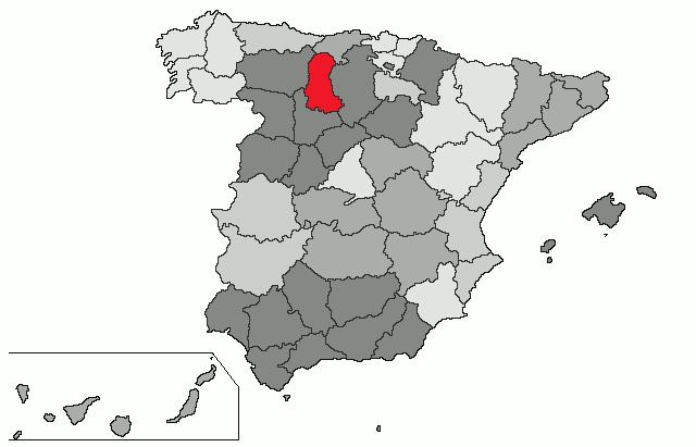 palencia espanha mapa Spain | Map: Palencia palencia espanha mapa