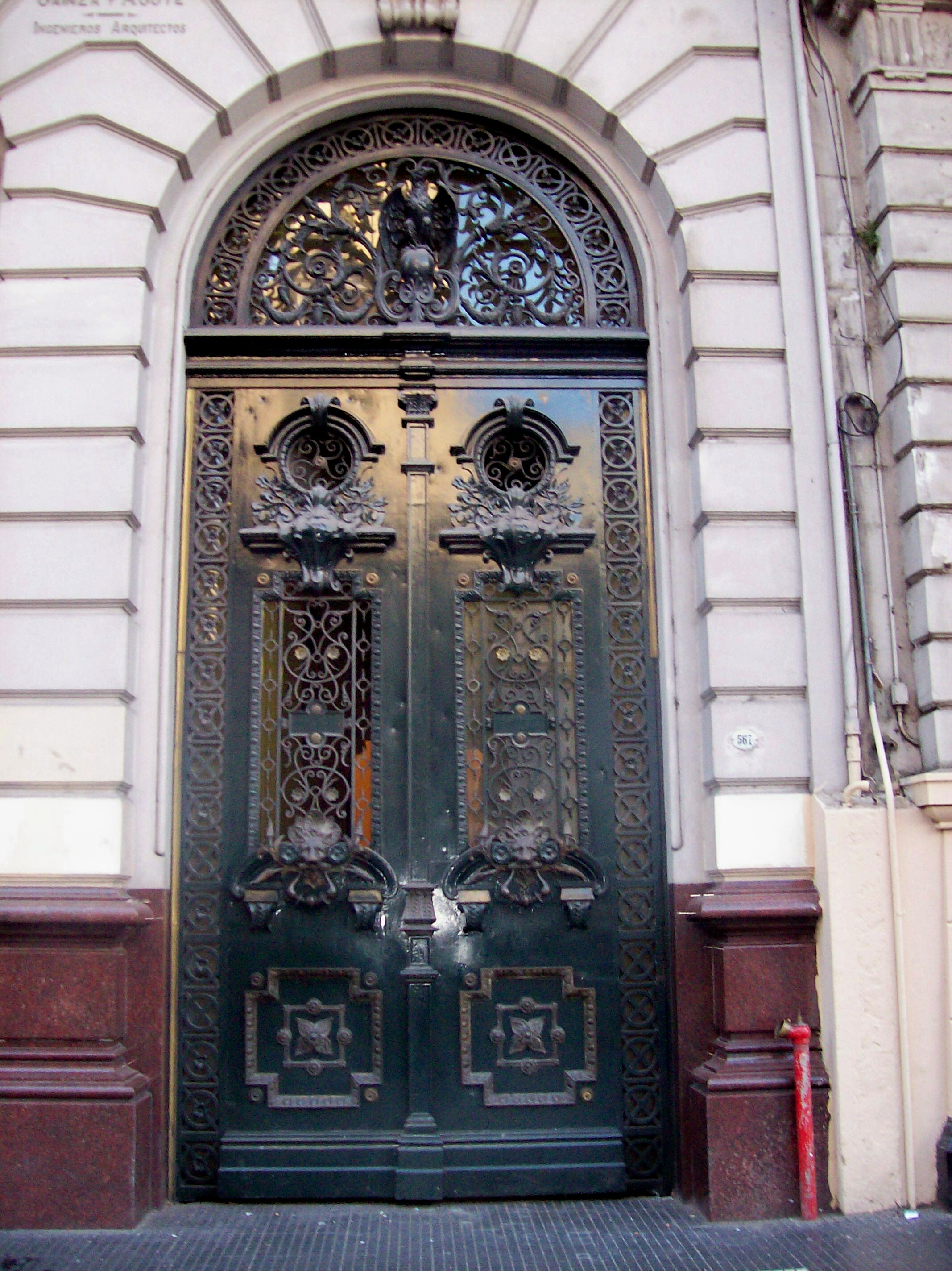 File puerta casa de la cultura la prensa avenida de mayo for Puertas para casas antiguas