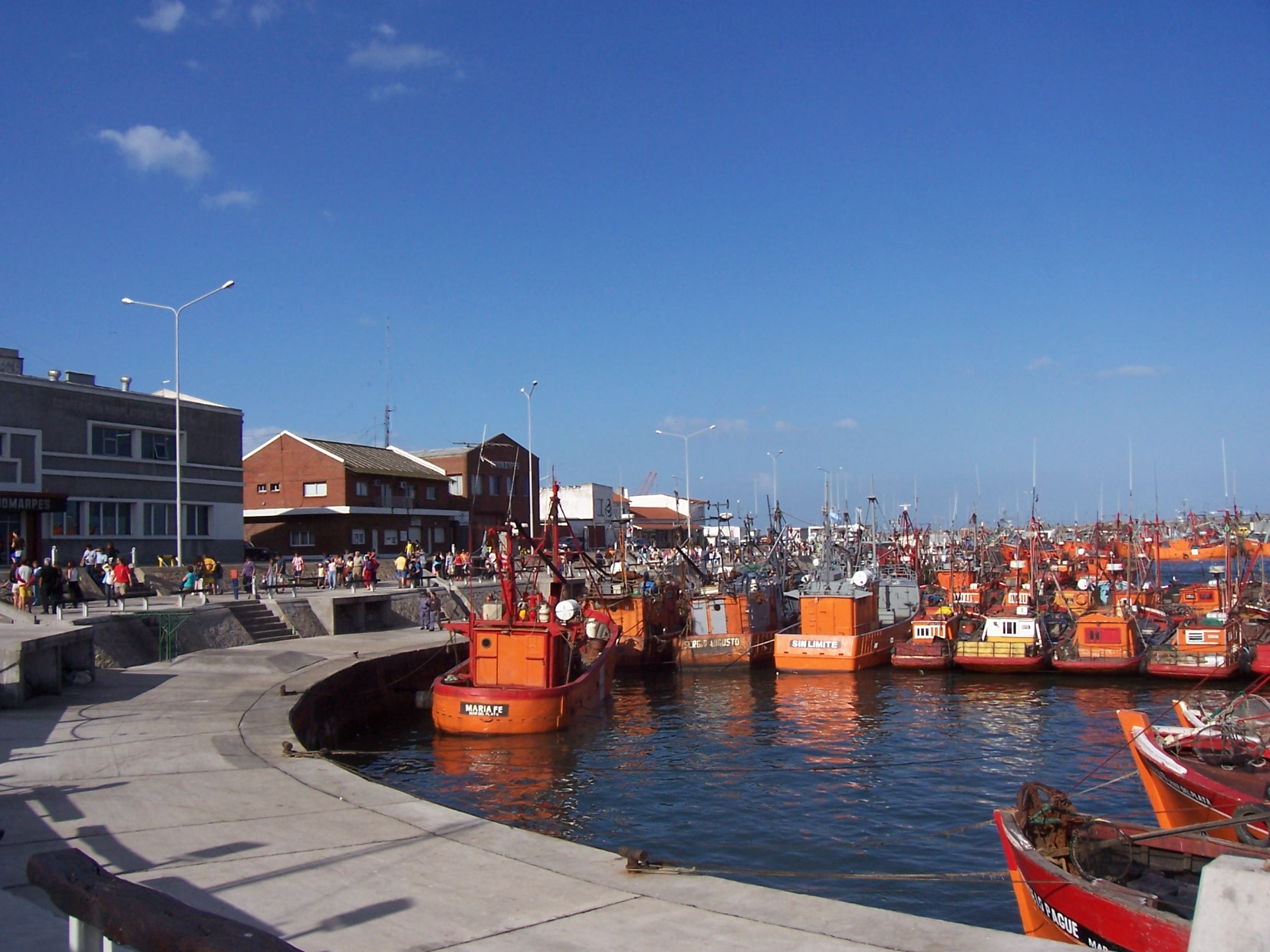 Historia Del Puerto De Mar Del Plata Fotos Aldosivi