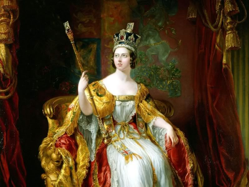 Queen Victoria by George Hayter