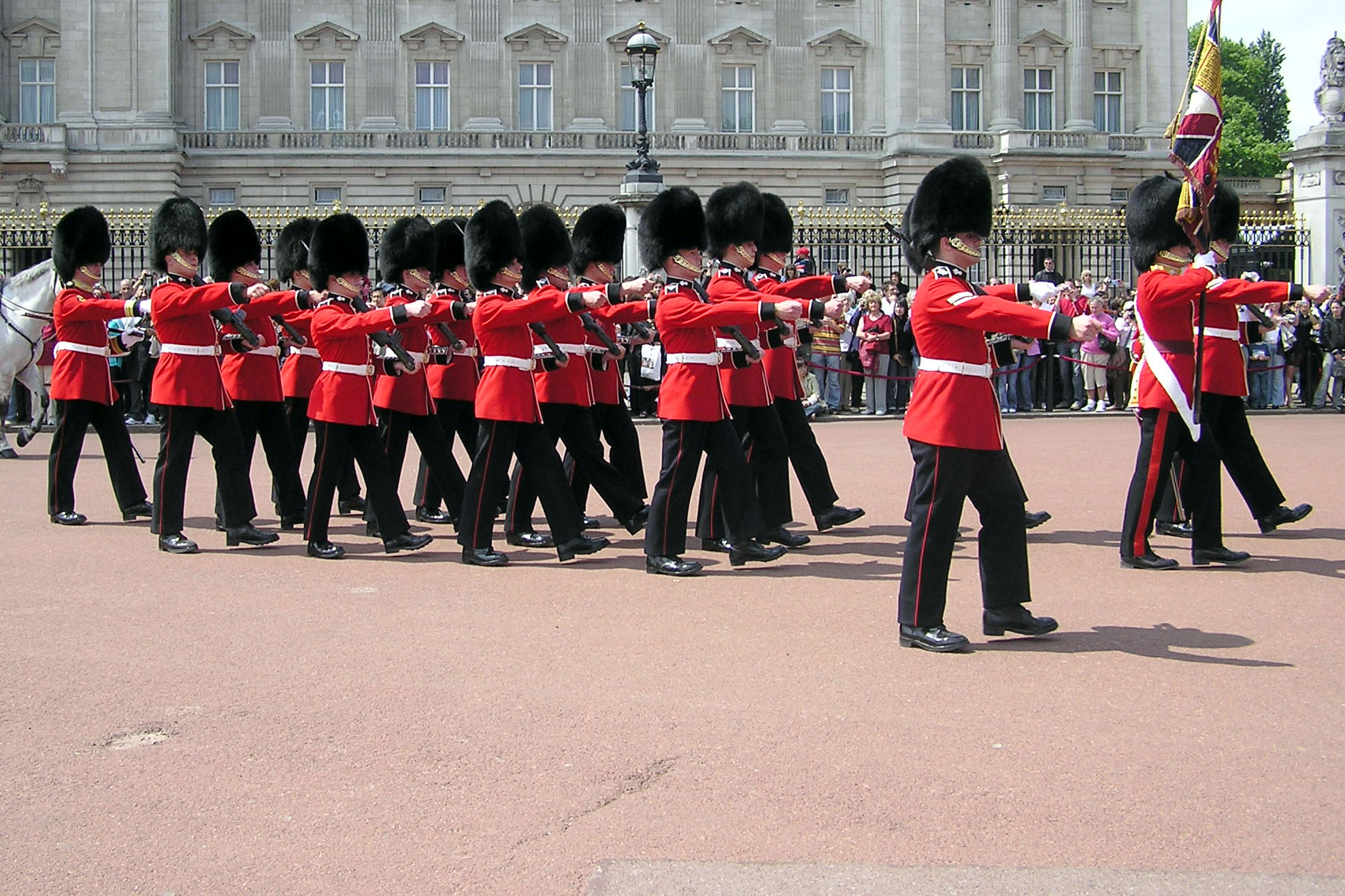 Queen's Guard, Buckingham Palace