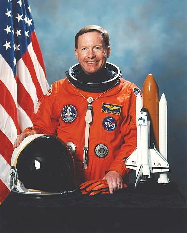 Astronaut Dick Richards, NASA photo Source: Wikipedia (www.jsc.nasa.gov unavailable August 2019) Richard_Richards.jpg