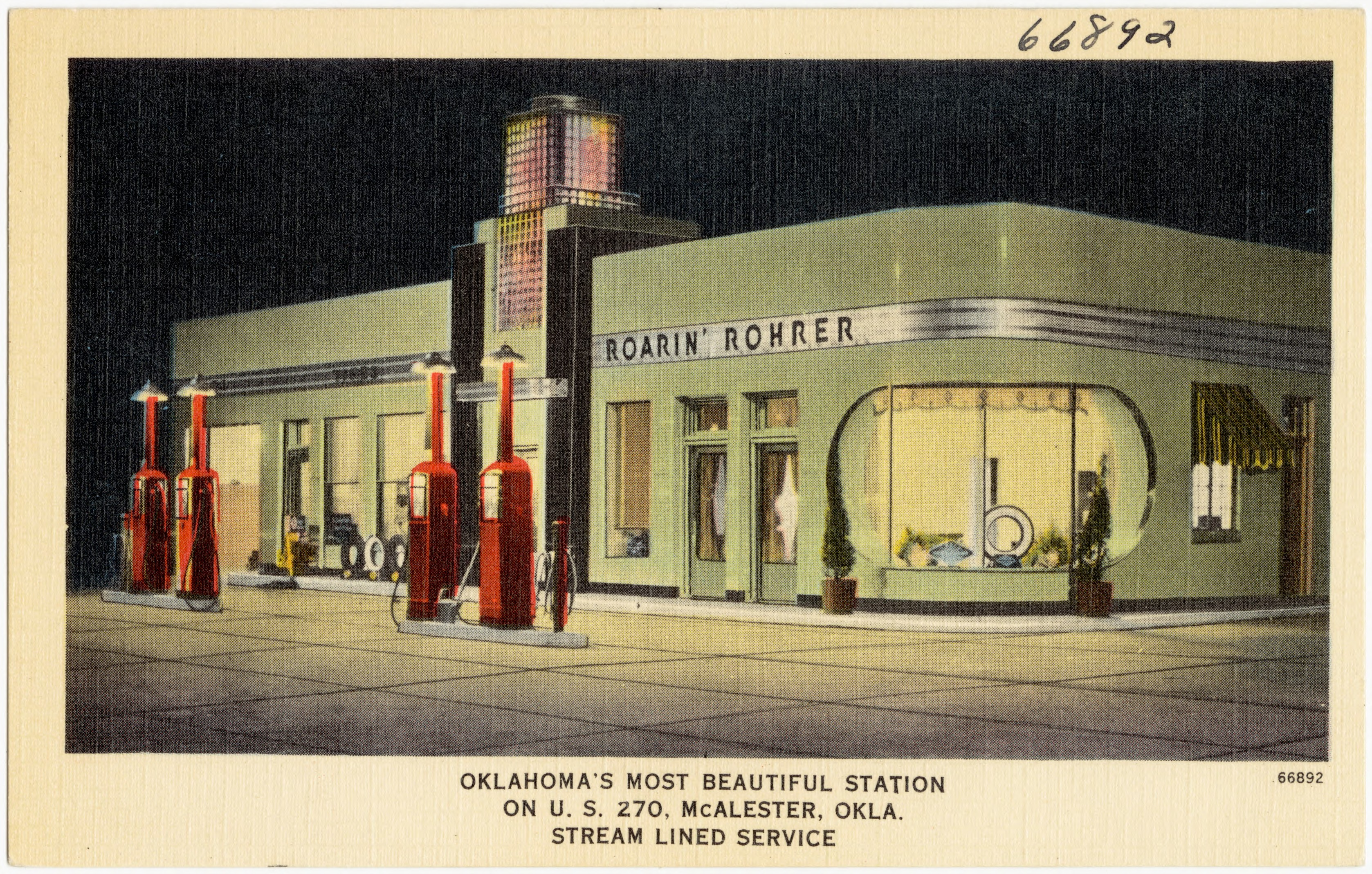 File:Roarin' Rohrer, Oklahoma's most beautiful station on