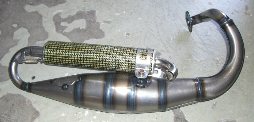 Kawasaki Motorized Bike Mufflers
