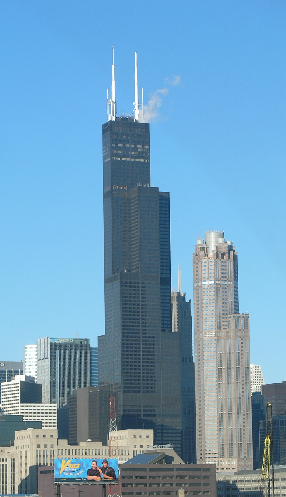how tall is sears tower