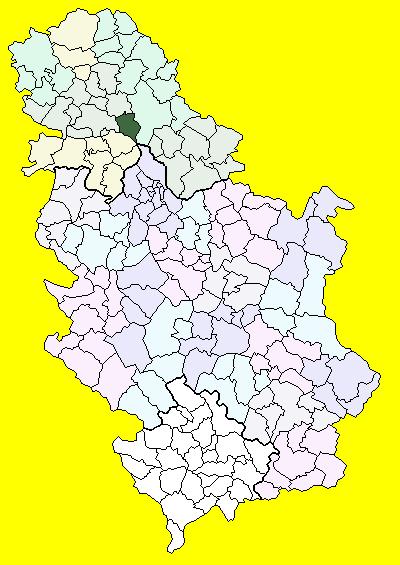 titel srbija mapa Titel (općina) – Wikipedija titel srbija mapa