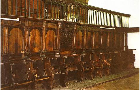 File silleria coro wikimedia commons for Sillas para iglesia en madera
