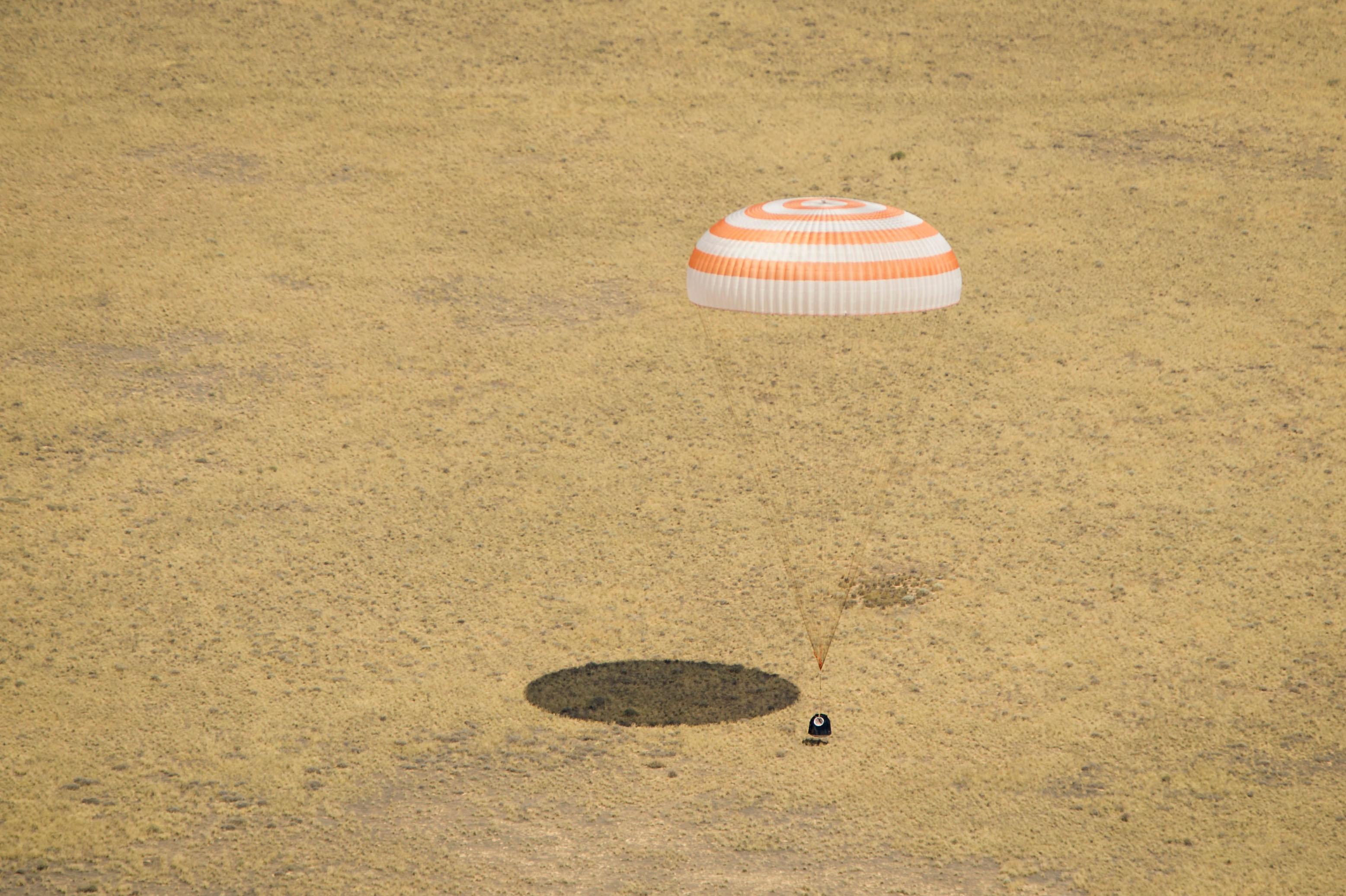 russian spacecraft landing - photo #3