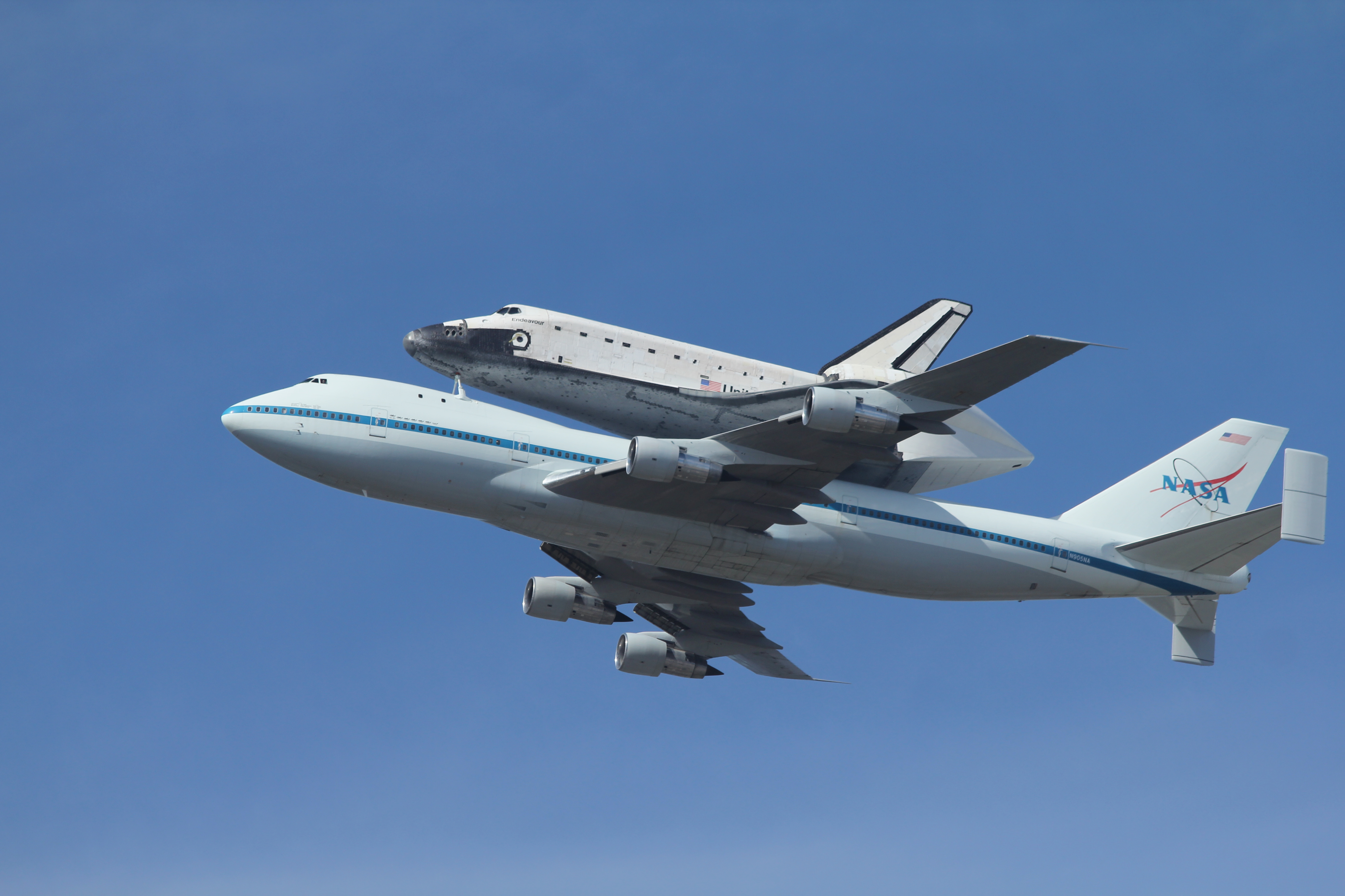 NASA Space Shuttle In Flight - Pics about space