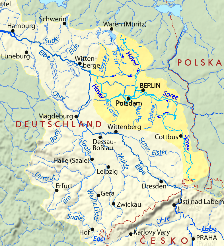 brandenburg flüsse karte Havel – Wikipedia