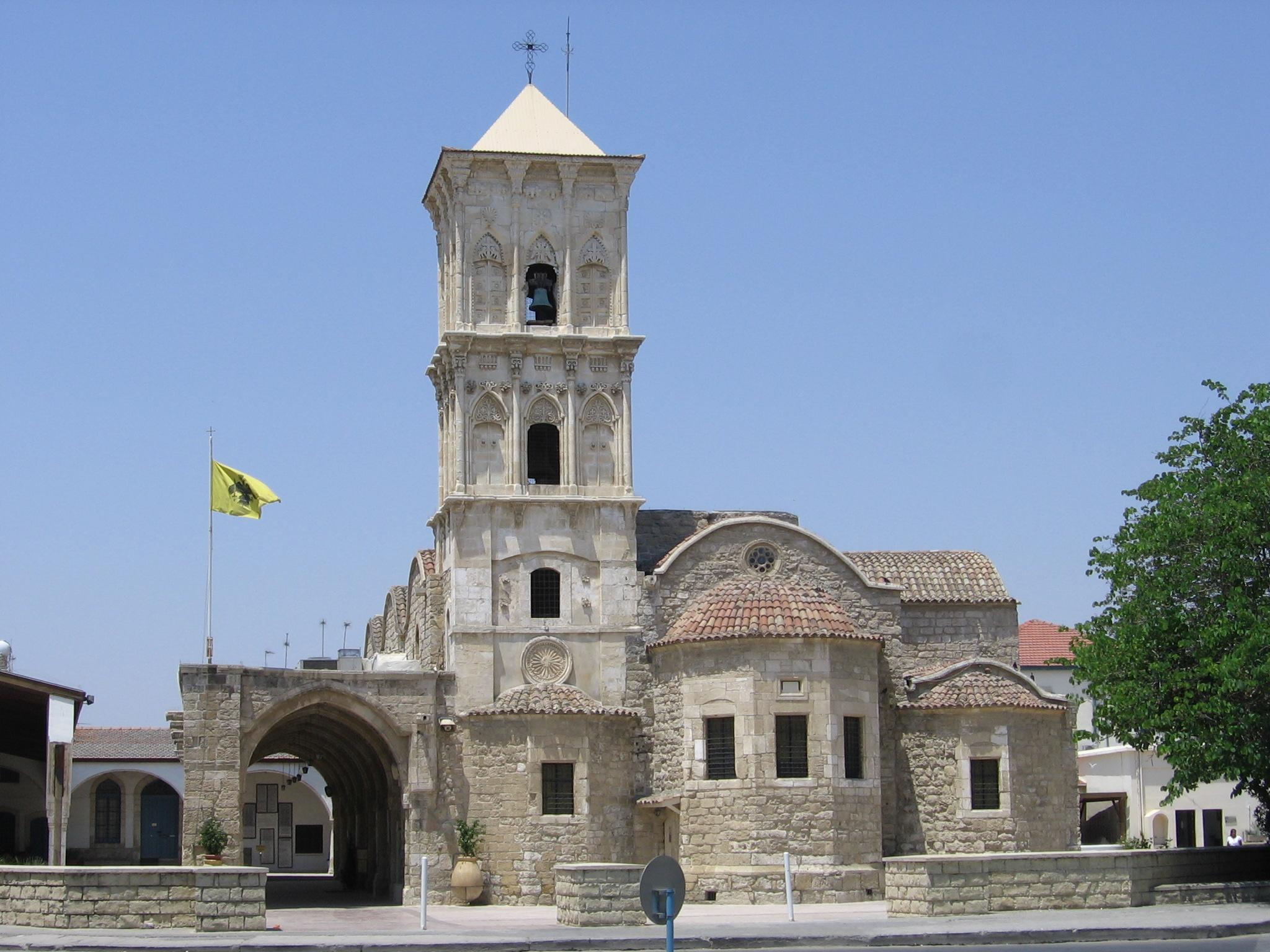 Одна из главных достопримечательностей Ларнаки — церковь Святого Лазаря