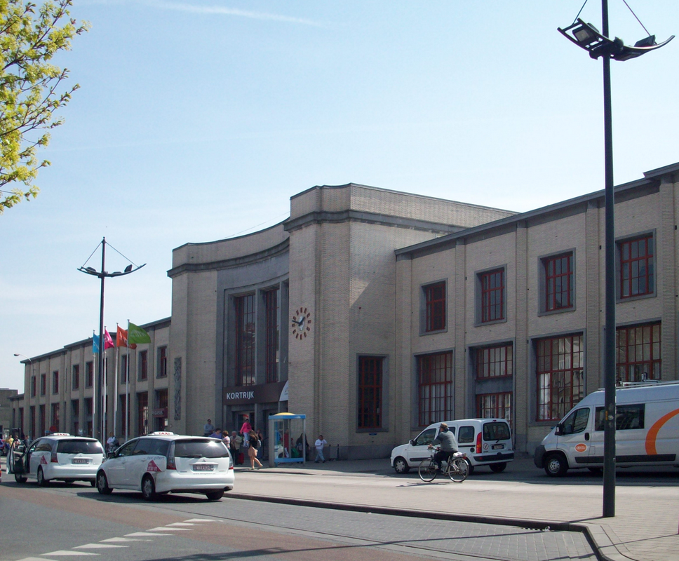 Station Kortrijk Wikipedia