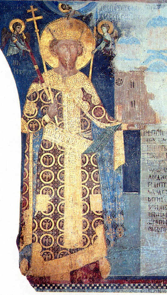 Manastiri Srbije - Page 2 Stefan_Lazarevic-freska