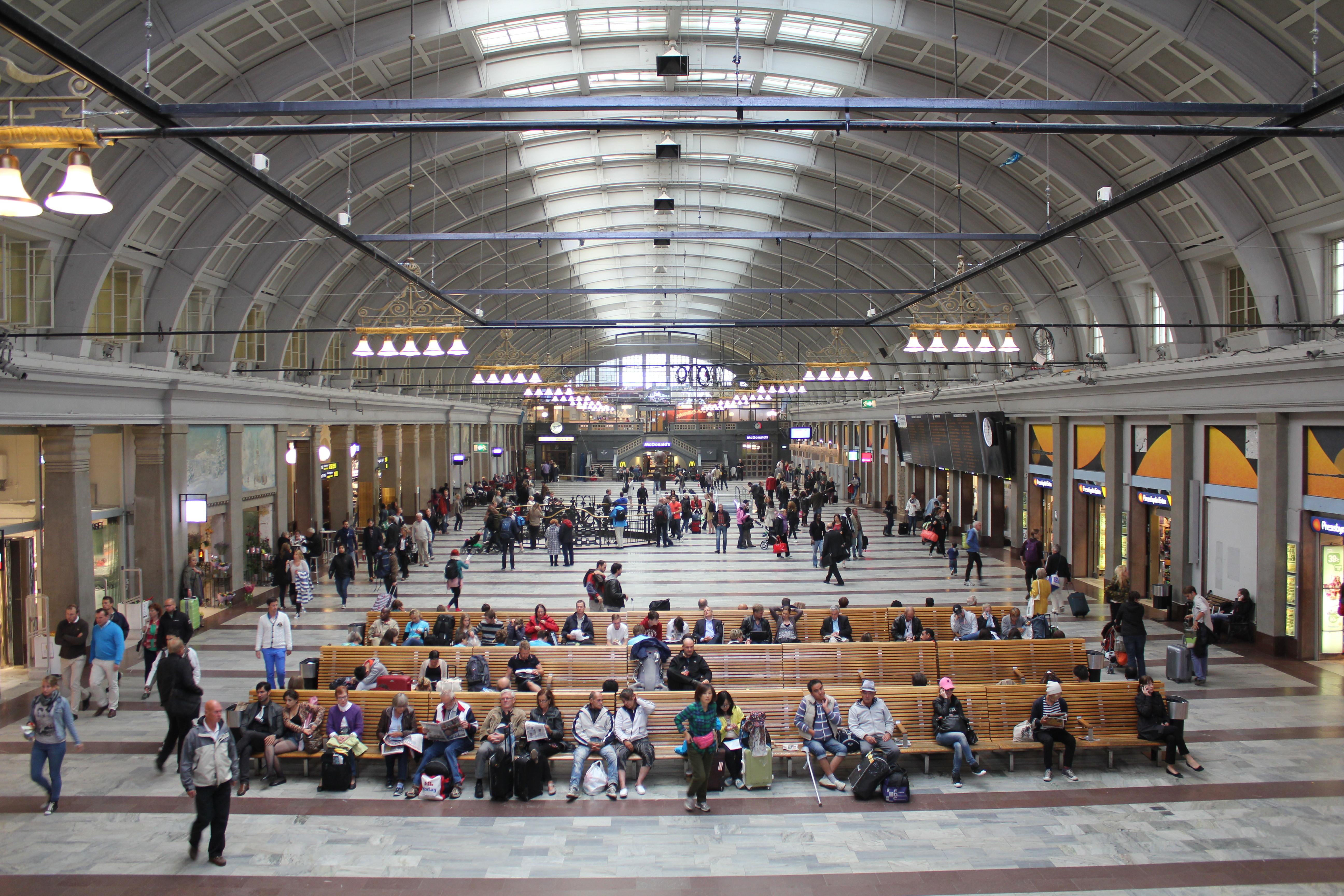 Urban Interior Design File Stockholms Centralstation Interi 246 R Jpg Wikimedia