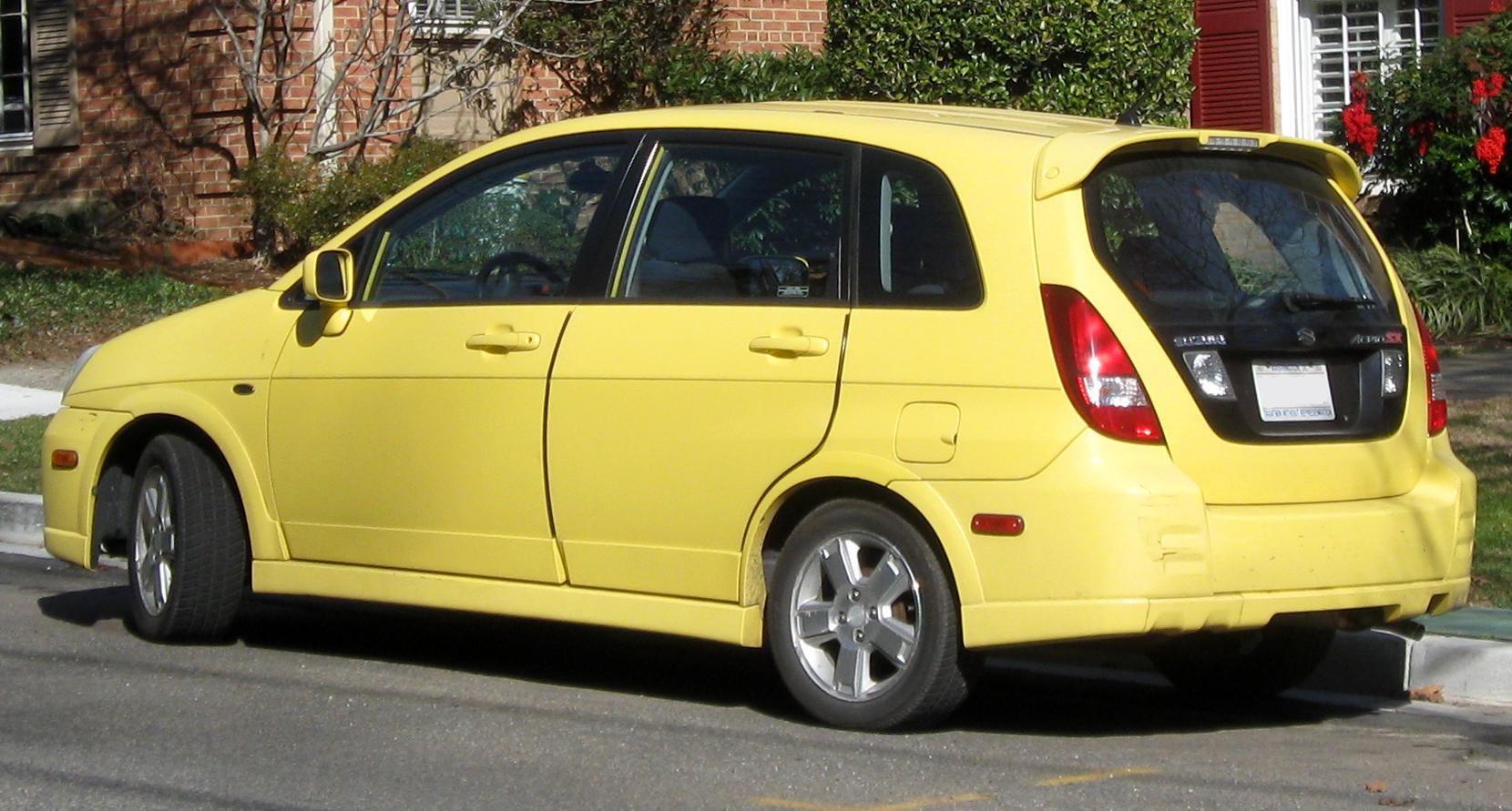 Suzuki Aerio Sx Wheel Offset